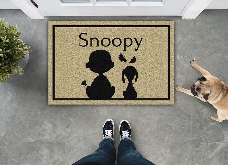 Tapete Capacho Snoopy