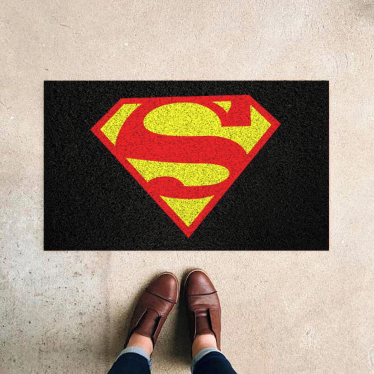 Tapete Capacho Super Homem
