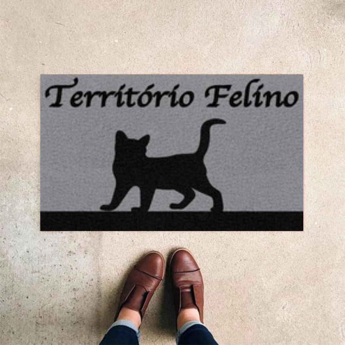 TAPETE CAPACHO TERRITORIO FELINO