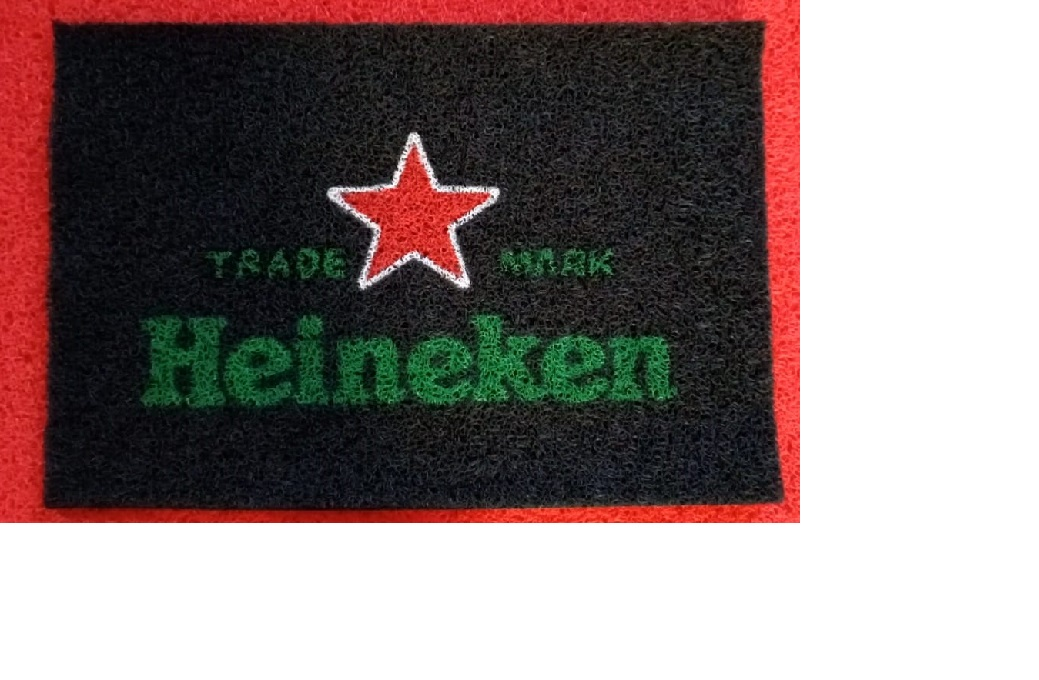 TAPETE CAPACHO 'TRAD MARK HEINEKEN'