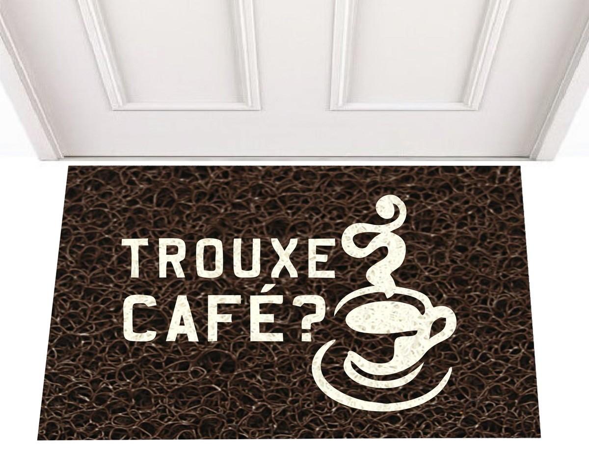 TAPETE CAPACHO TROUXE CAFÉ?