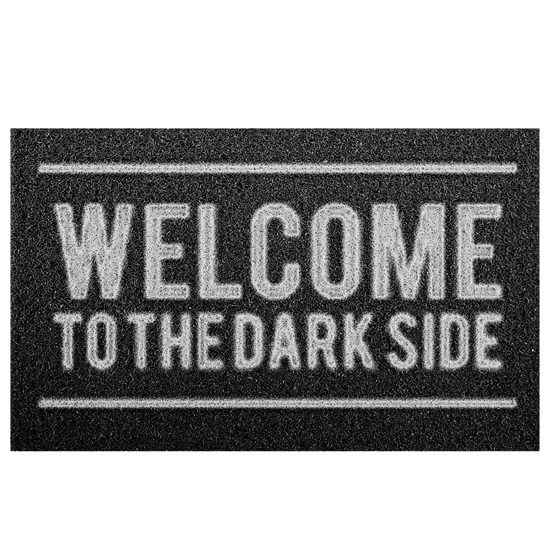 Tapete Capacho  Welcome To The Dark Side