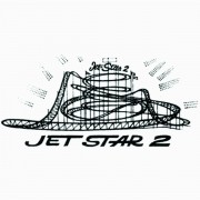 "Adesivo unitário ""Jet Star 2"""