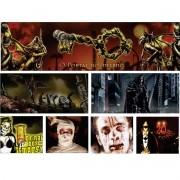 """Coleção """"Eventos de Terror"""" com 7 Adesivos"""