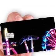 """Película para cartão """"Parque a noite"""""""