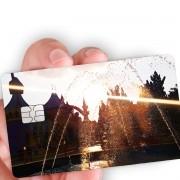 """Película para cartão """"Pôr-do-sol"""""""