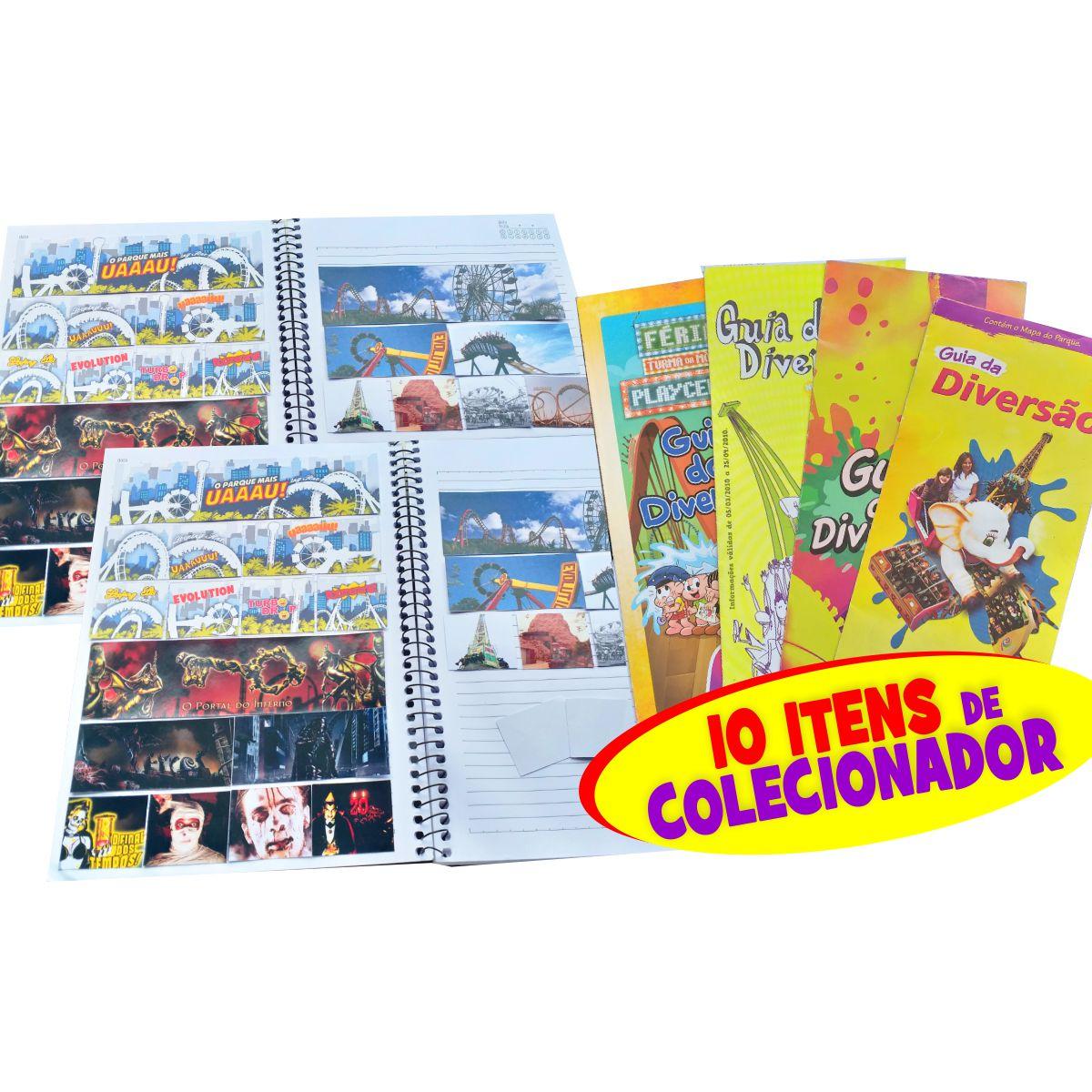 3 Coleções em DOBRO (42 adesivos + 06 surpresa + Kit Premium! R$ 34,80)