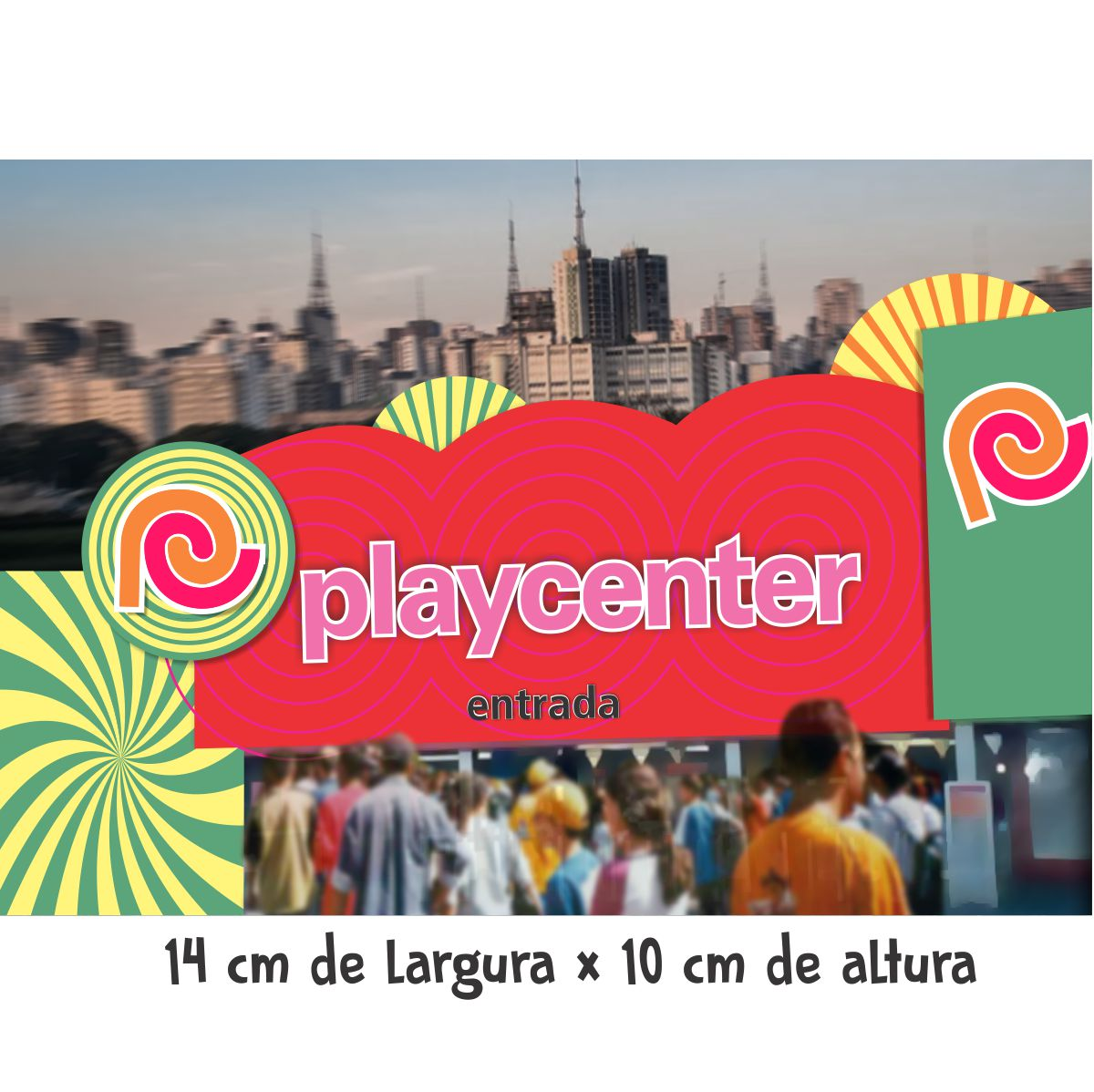 Adesivo unitário Portaria Play  (grande)