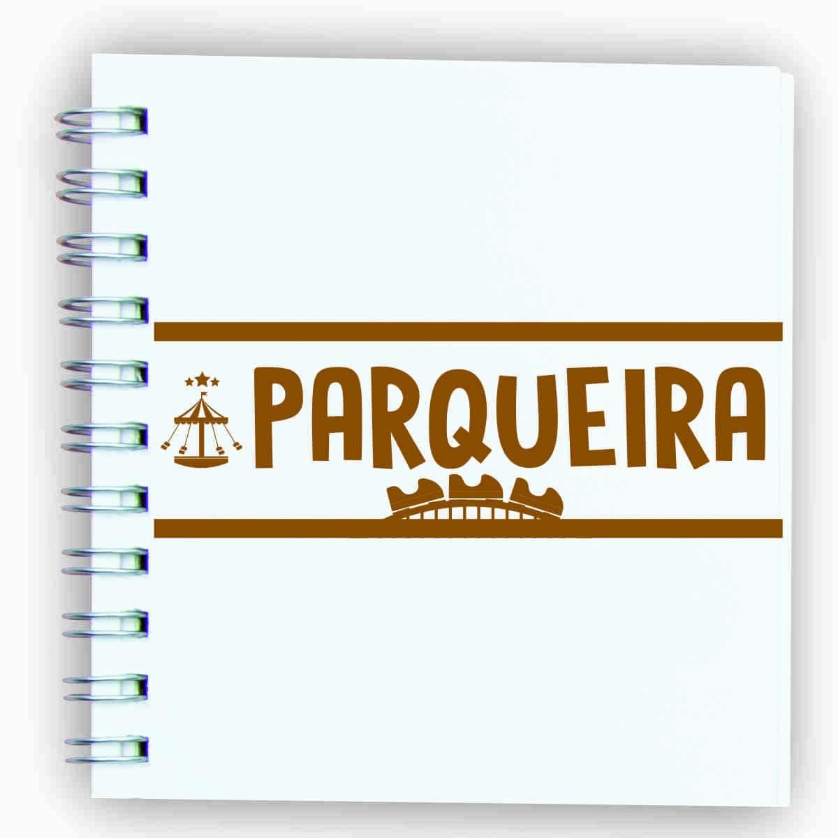 """Adesivo unitário """"Parqueira"""""""