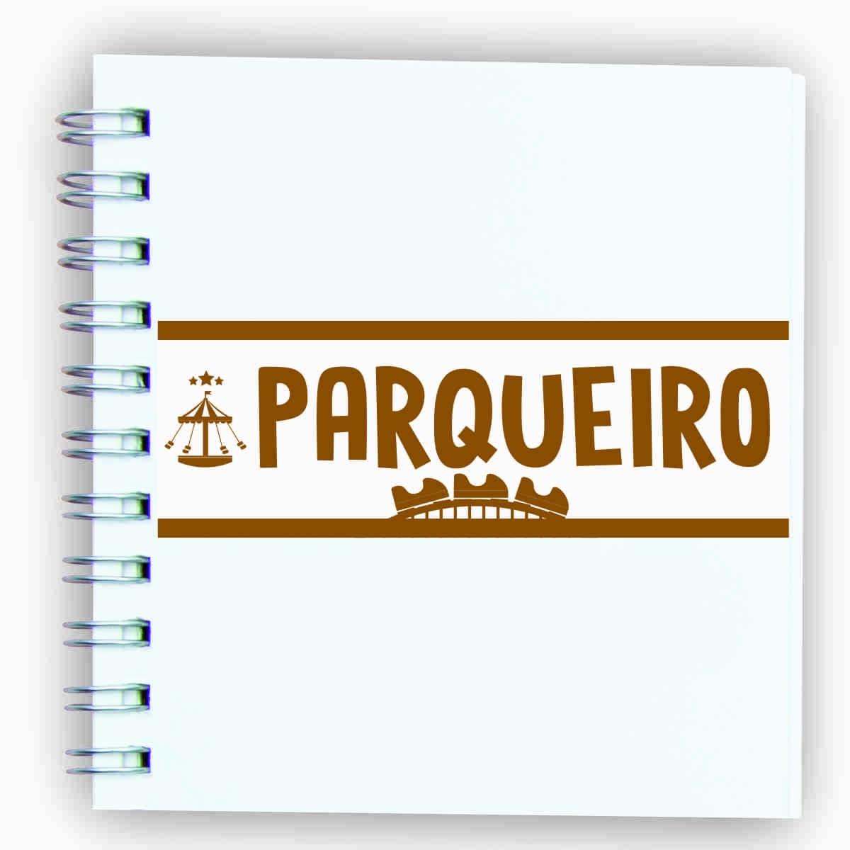 """Adesivo unitário """"Parqueiro"""""""