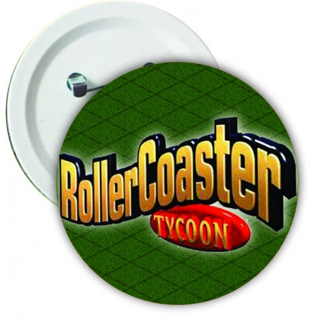 "Botton ""Logo Roller Coaster Tycoon 2"""
