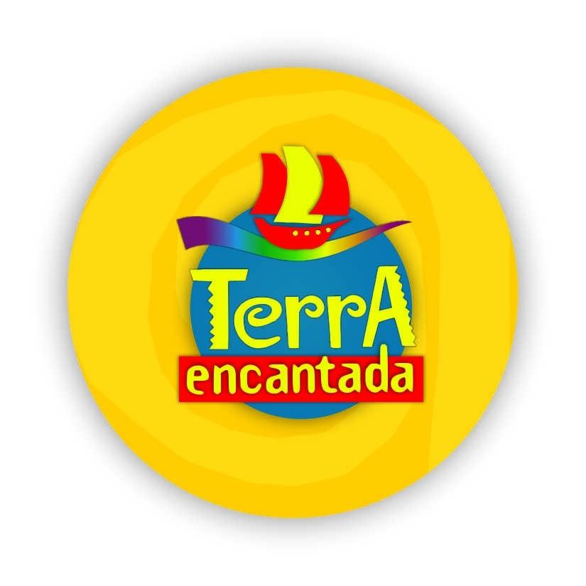 """Chaveiro logo """"Terra Encantada"""""""