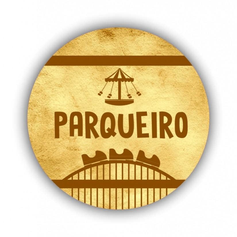 "Chaveiro ""Parqueiro"""