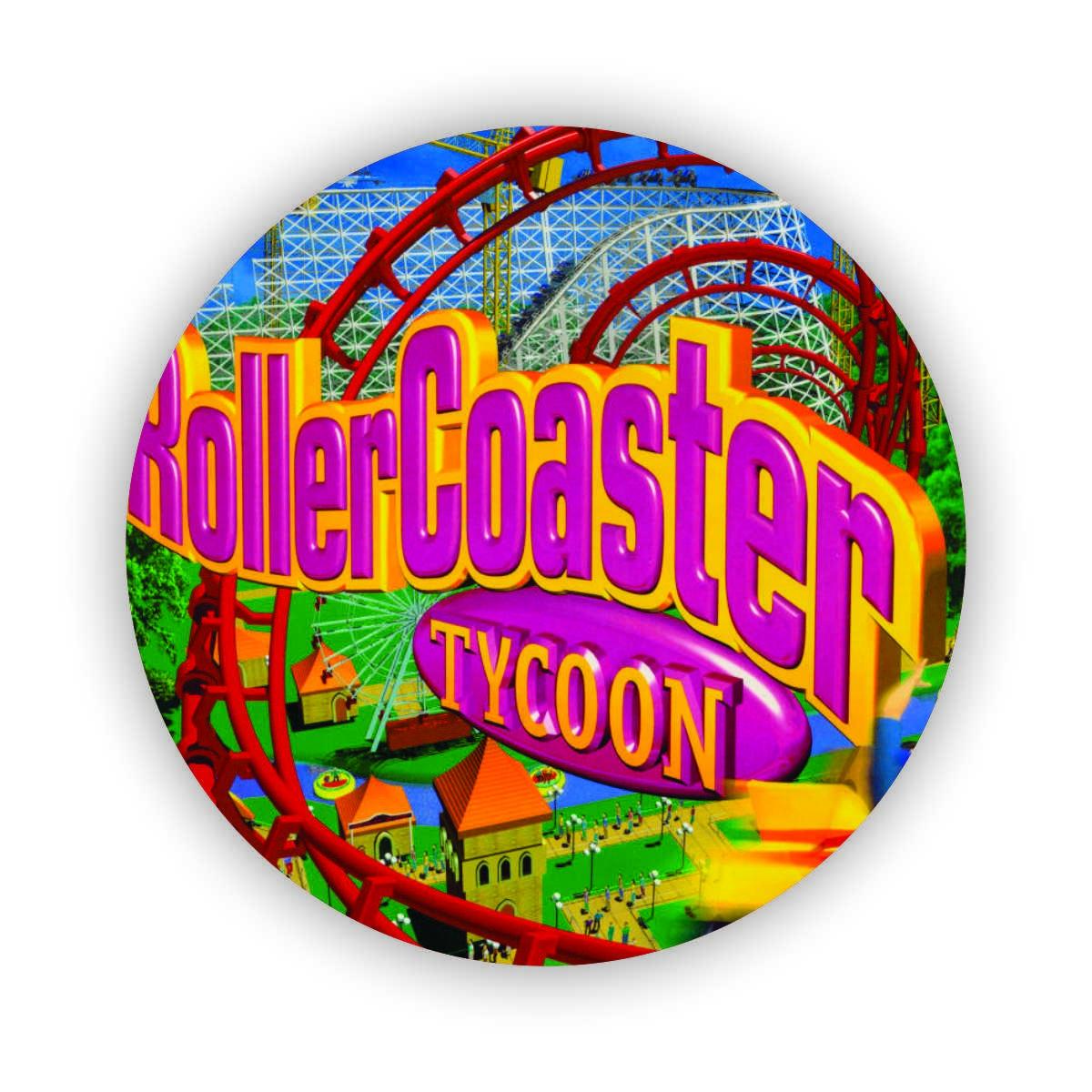 "Chaveiro ""Roller Coaster Tycoon"""
