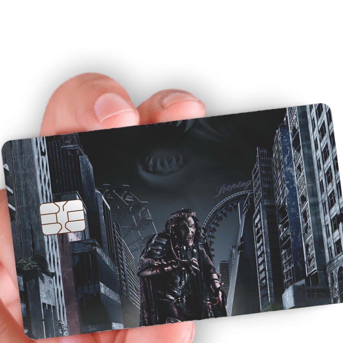 """Película para cartão """"A Noite Maldita"""""""