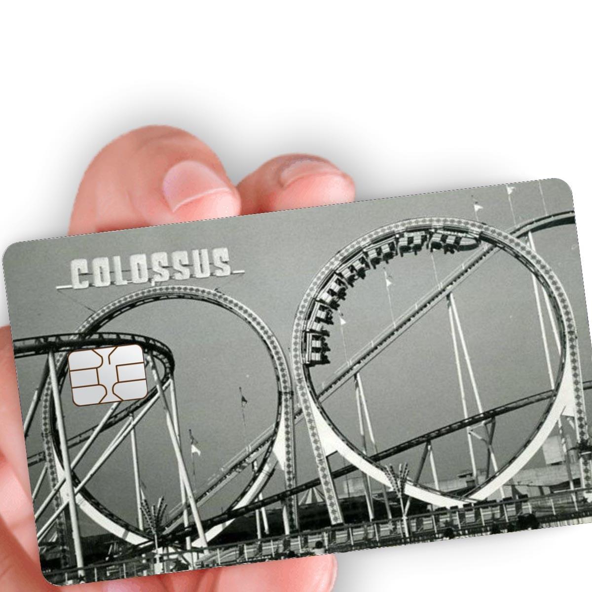 """Película para cartão """"Colossus"""""""
