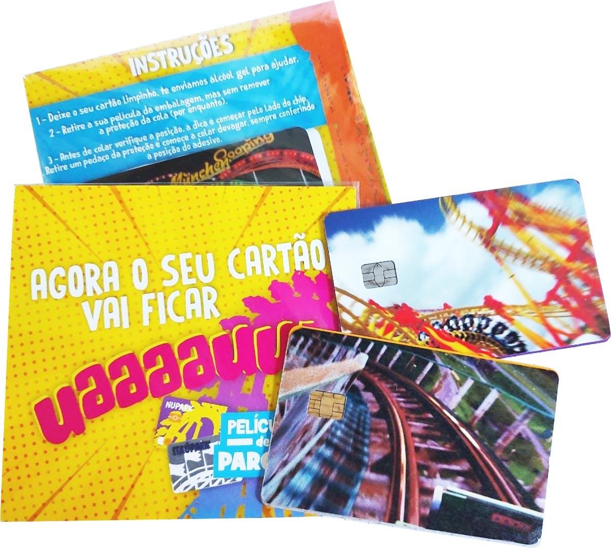 """Película para cartão """"Parque Uau!"""""""