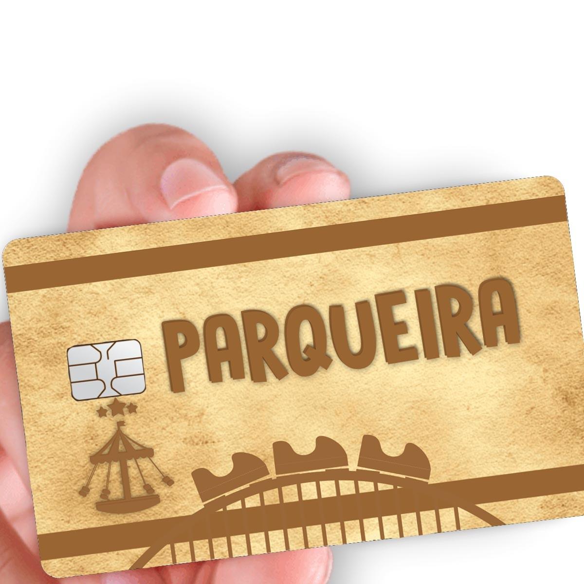 """Película para cartão """"Parqueira"""""""