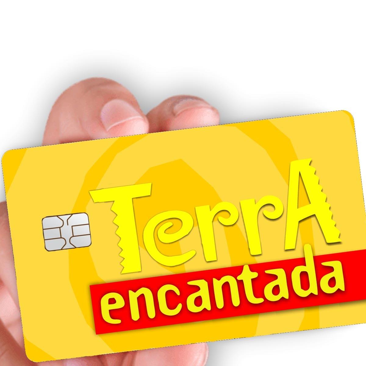 """Película para cartão """"TE Gold"""""""