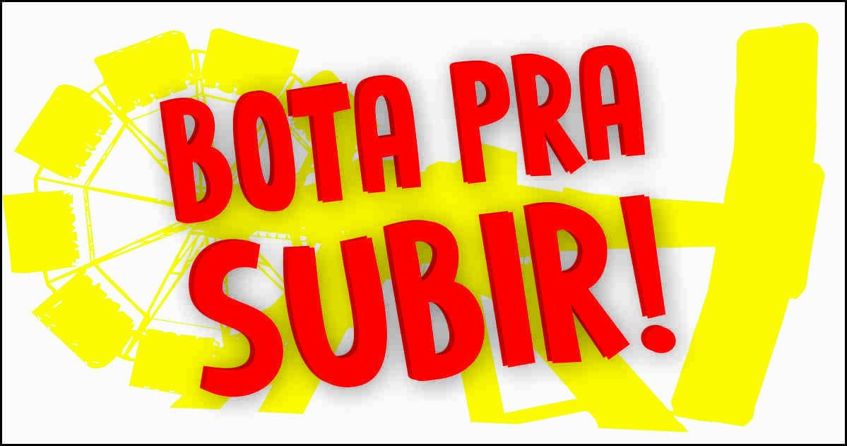 """Adesivo unitário """"Bota pra subir!"""""""