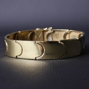 Bracelete de Moeda Antiga 15mm