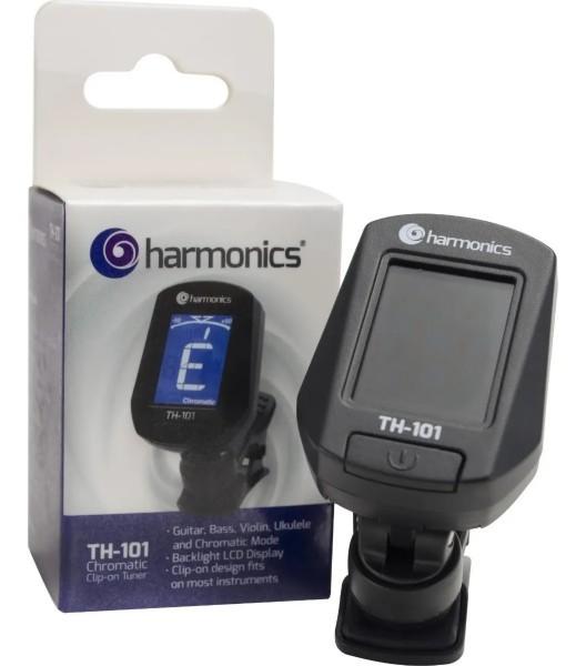 AFINADOR HARMONICS CLIP CROMATICO TH-101