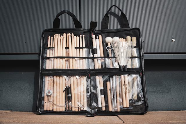 Bag para baquetas MEINL - Linha Deluxe
