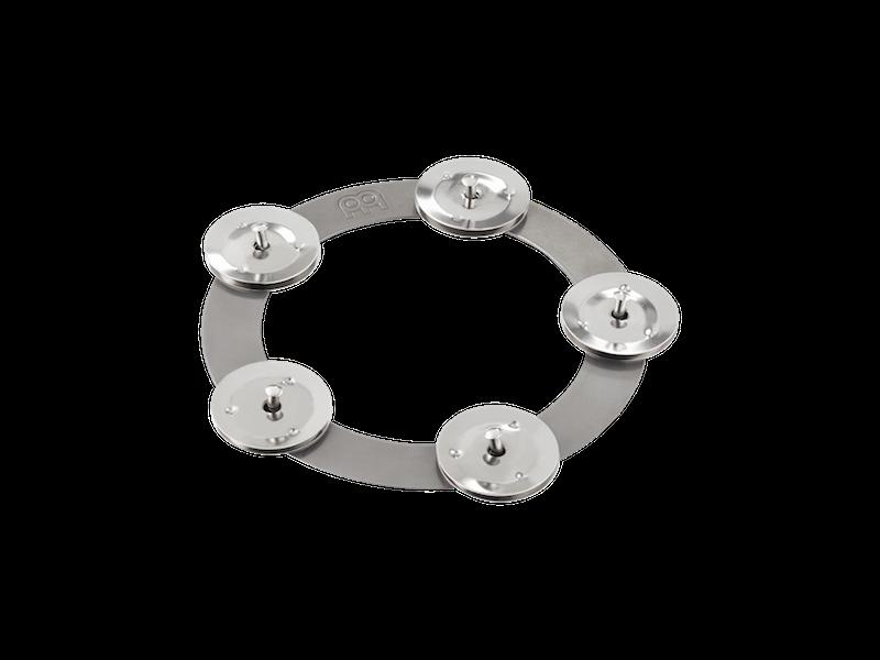 Efeitos para chimbal MEINL Ching Ring - contendo 5 pares de platinelas de aço inoxidável