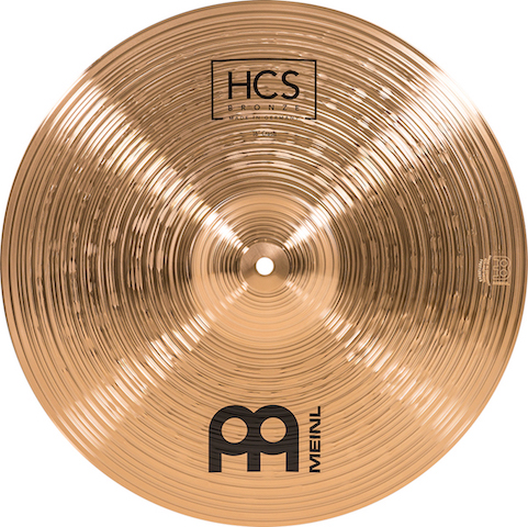 "Kit de pratos MEINL HCS Bronze - 14"", 16"" e 20"""