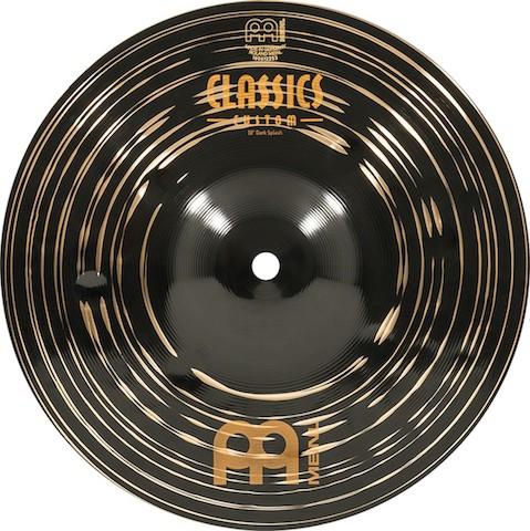 "MEINL 10"" Dark Splash - Linha Classic Custom Dark"
