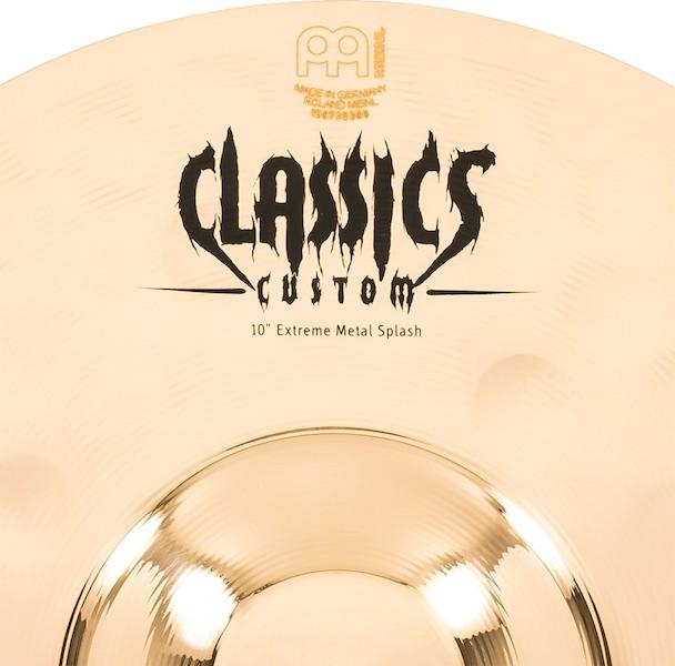 "MEINL 10"" Splash - Linha Classic Custom Extreme Metal"