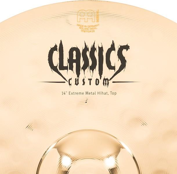 "MEINL 14"" Hihat - Linha Classic Custom Extreme Metal"
