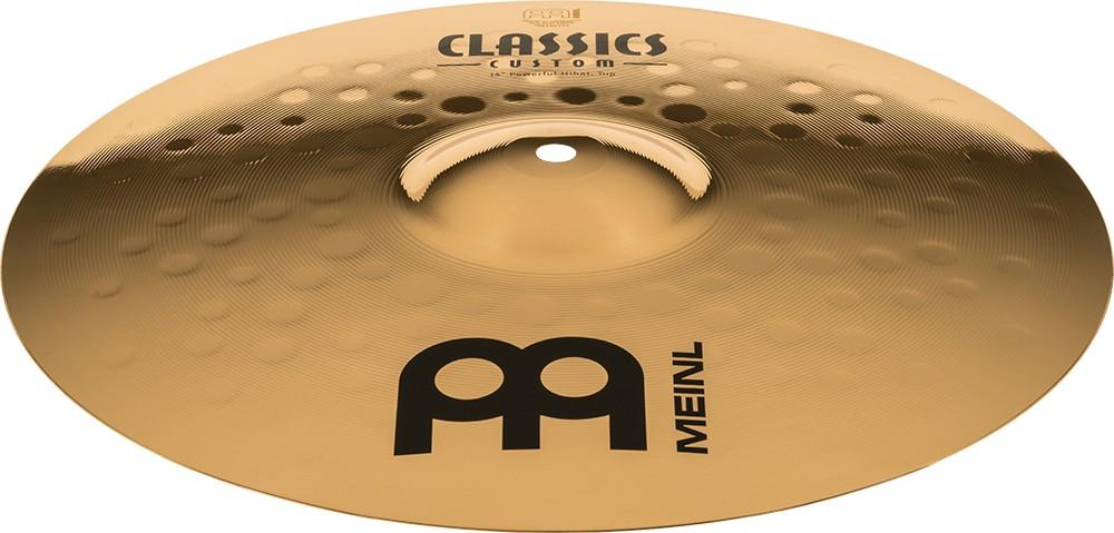 "MEINL 14"" Powerful Hihat - Linha Classic Custom"