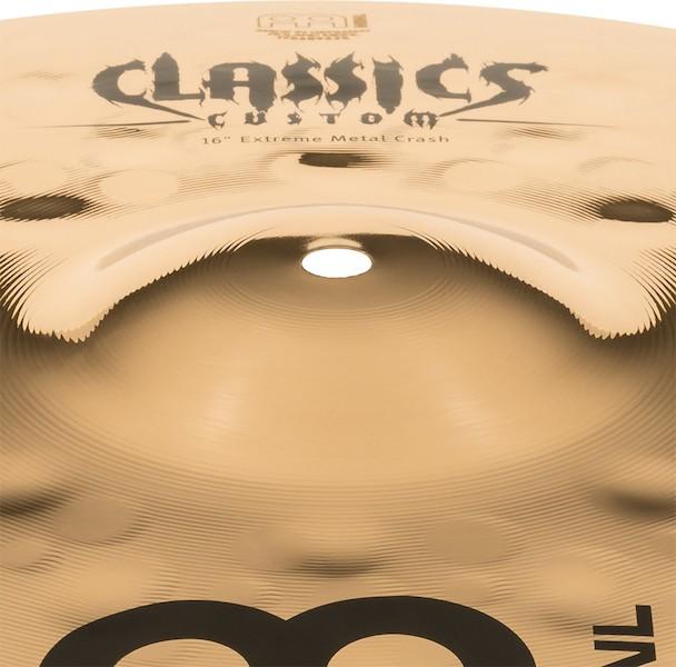"MEINL 16"" Crash - Linha Classic Custom Extreme Metal"