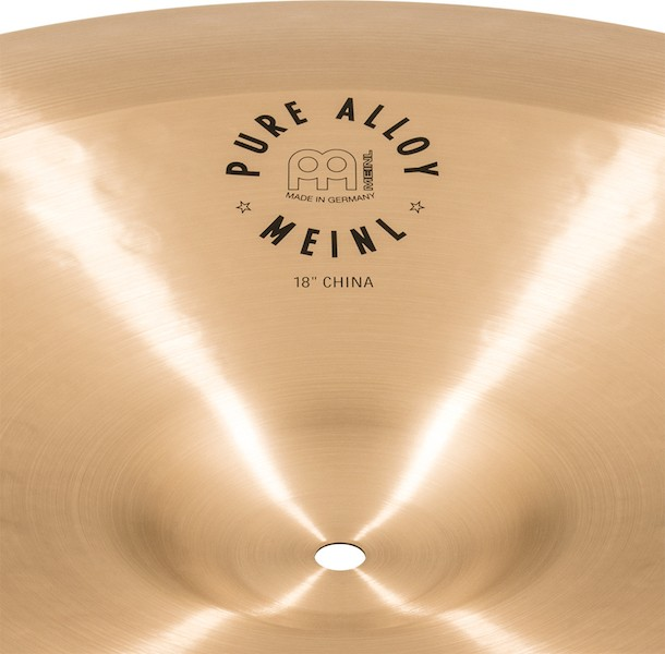 """MEINL 18"""" China - Linha Pure Alloy"""