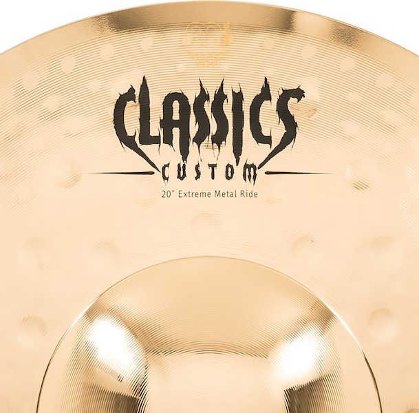"MEINL 20"" Ride - Linha Classic Custom Extreme Metal"