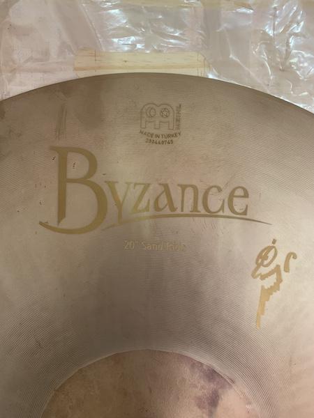 "MEINL 20"" - Byzance (Benny Greb Signature) - MOSTRUÁRIO"