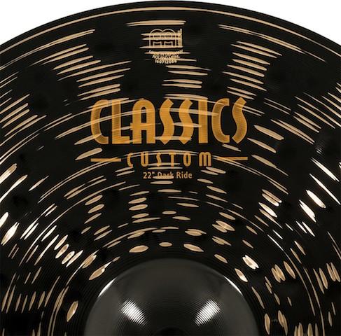 "MEINL 22"" Dark Ride - Linha Classic Custom Dark"