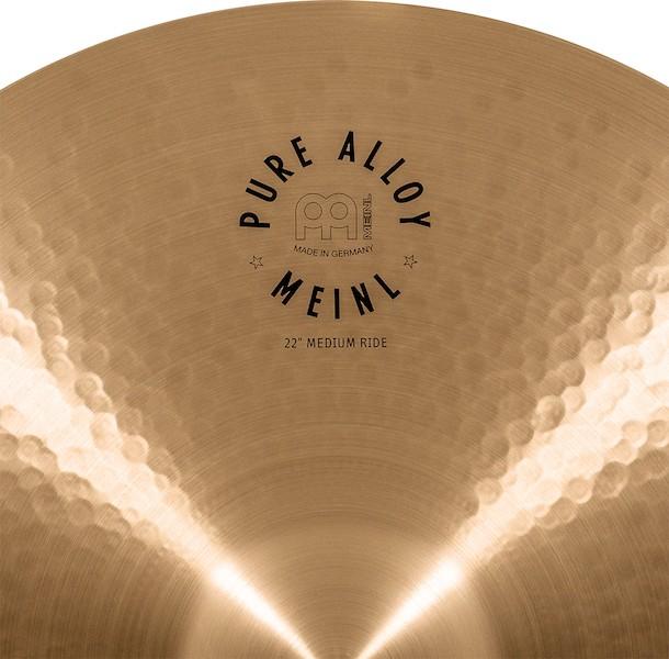 "MEINL 22"" Medium Ride - Linha Pure Alloy"