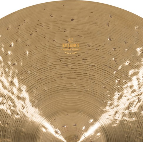 """MEINL 22"""" Ride - Linha Byzance Foundry Reserve"""