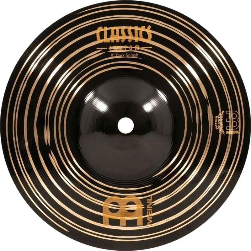 "MEINL 8"" Dark Splash - Linha Classic Custom Dark"