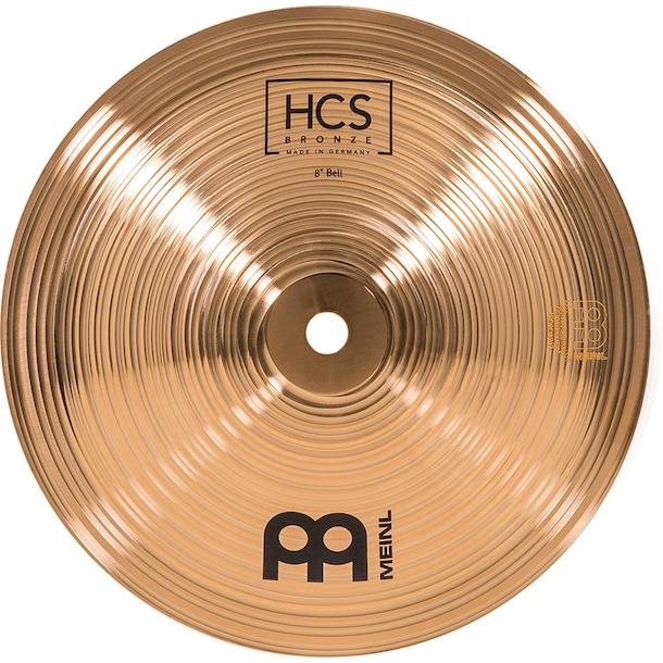 """Prato de bateria Bell 8"""" Meinl - HCS Bronze Bell"""