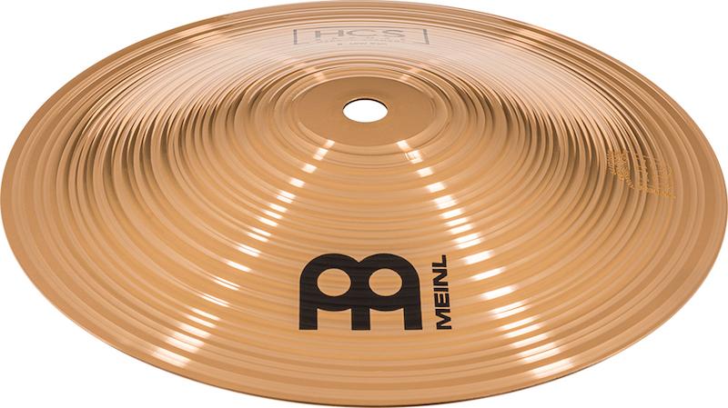 """Prato de bateria Bell 8"""" Meinl - HCS Bronze Bell LOW"""
