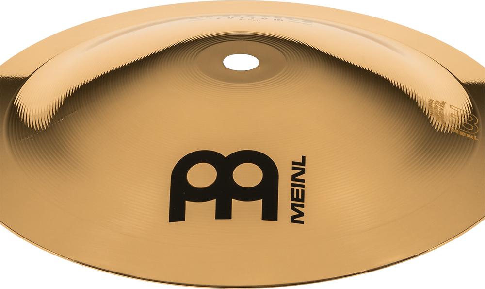 """Prato de bateria Bell 8"""" Meinl - Linha Classics Custom"""