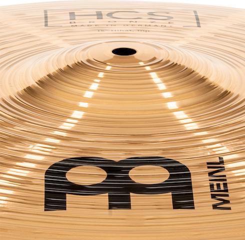"Prato de bateria Chimbal 15"" Meinl - HCS Bronze"