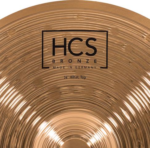 "Prato de bateria chimbal Meinl HCS Bronze 14"""