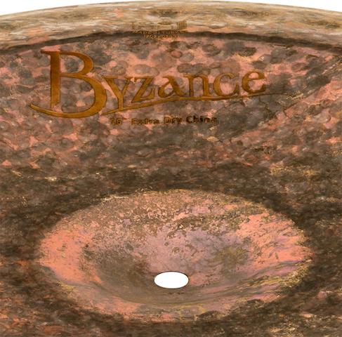 "Prato de bateria China 16"" Meinl - Byzance Extra Dry China"