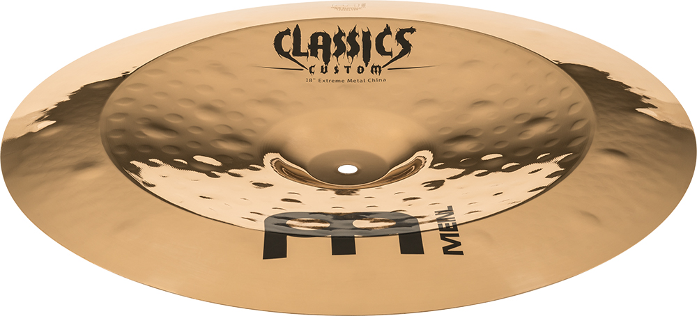 "Prato de bateria China 18"" Meinl - Classics Custom Extreme Metal"