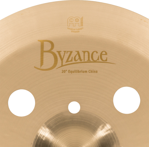 "Prato de bateria China 20"" Meinl - Byzance Equilibrium China - Signature Matt Garska"