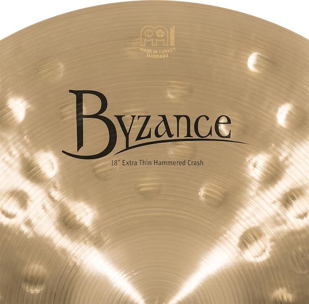 "Prato de bateria Crash 18"" Meinl - Byzance Traditional Extra Thin"
